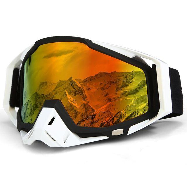 5cbb43b8634 Windproof Ski Goggles Adult Ski Snowboard Skiing Glasses UV Protection  Winter Outdoor Sport Anti-fog Women Men Snow Eyewear