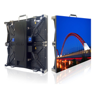 SZLIGHTALL High Resolution Indoor P3.91mm 500x500mm Die Casting Aluminum Cabinet Full Color Led Didsplay Video Wall for TV Stage