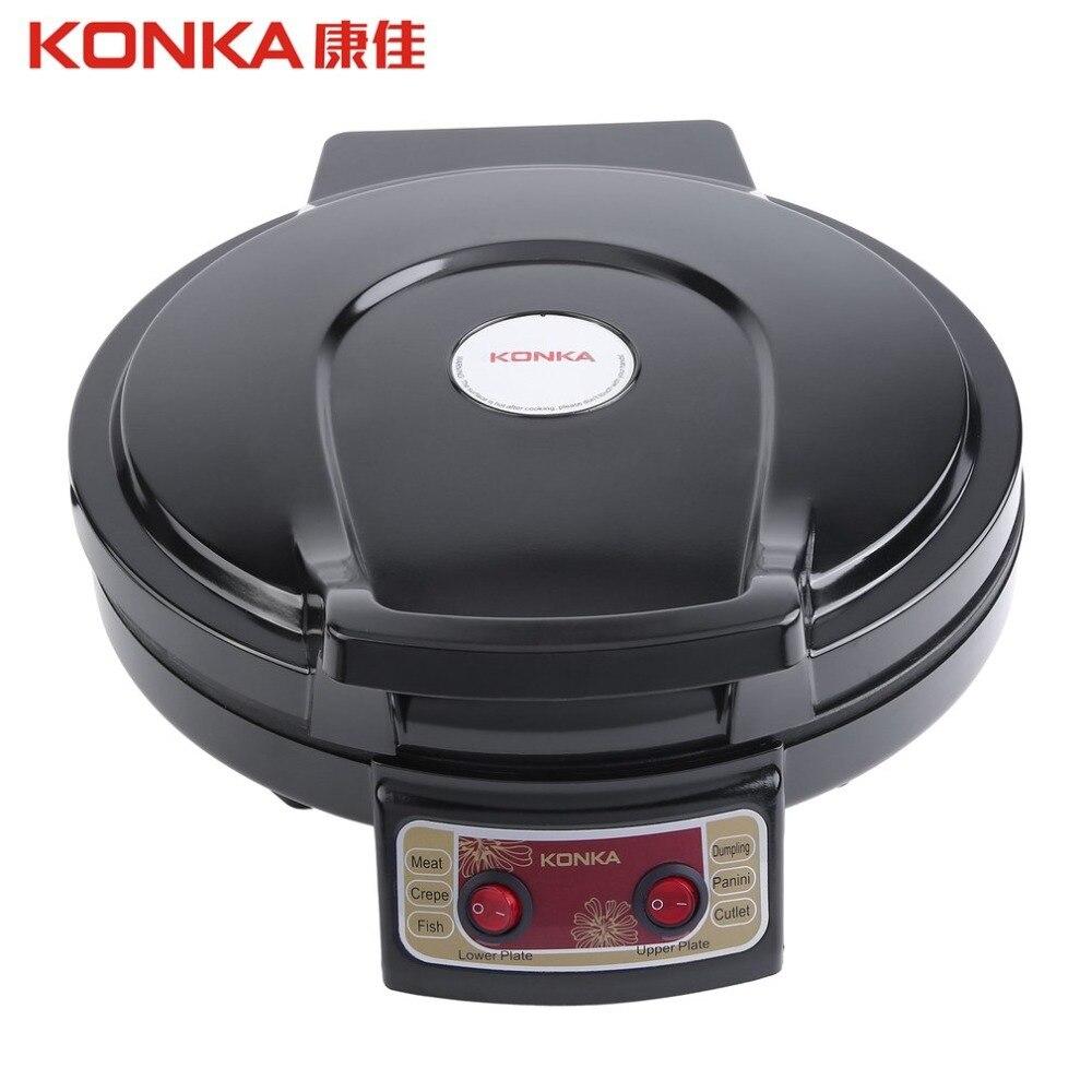 Konka 900w 220v 50hz Electric Griddle Amp Backer Dual Side