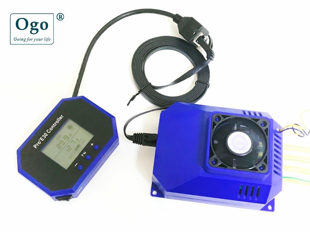OGO PRO'E30 INTELLIGENT LCD PWM dynamic working with Engine HHO saving fuels цена