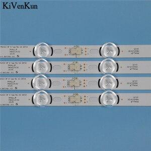 """Image 5 - Tira de LED para iluminación trasera de lámparas para LG 39LA6208 39LA620S 39LA620V 39la6218 za, juego de barras, banda de LED POLA2.0, 39 """", tipo A B"""