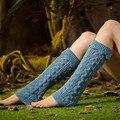 2016 Moda de Nueva Marca Sexy Mujeres Calcetines Calientes de Invierno Las Mujeres de Imitación de Flanger de encaje Calentadores de La Pierna Calcetines de Arranque de La Cubierta Al Por Mayor Al Por Menor
