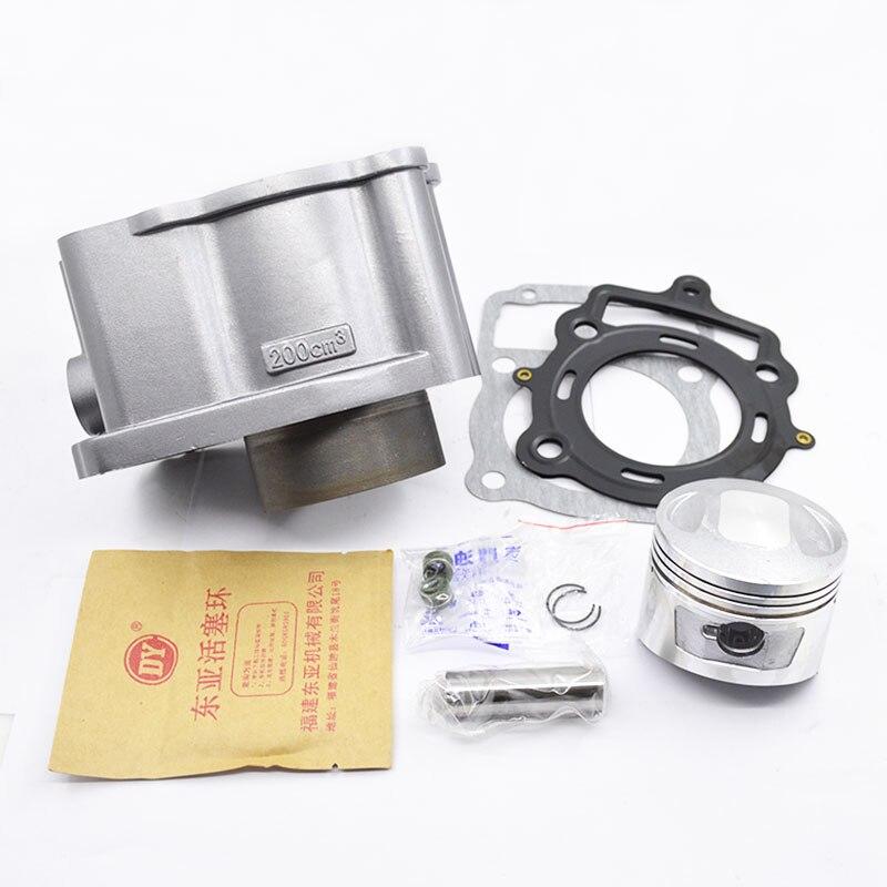 Haute qualité moto cylindre Kit 62mm alésage pour LONCIN TG210 TG 210 refroidi à l'eau moteur pièces de rechange