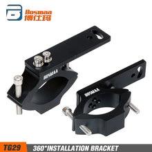 BOSMAA TG29 Motorcycle LED Headlight Tube Fork Bracket For Cafe racer Chopper Hunting Lamp Clamp Holder 22-54mm