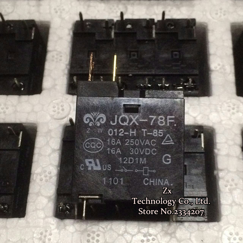 16A 250VAC 30VDC Microwave oven relay JQX 78F computer board