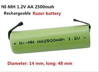 NEW Battery Ni MH Nimh 1 2V AA 2500mah 2 5ah AA2500mah Rechargeable Battery 1 2VAA2500mAh
