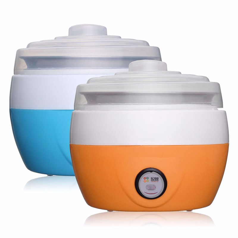 1L Electric Multifunction Yogurt Maker Stainless Steel Liner Mini Automatic Yogurt Machine DIY Tool Plastic Container1L Electric Multifunction Yogurt Maker Stainless Steel Liner Mini Automatic Yogurt Machine DIY Tool Plastic Container