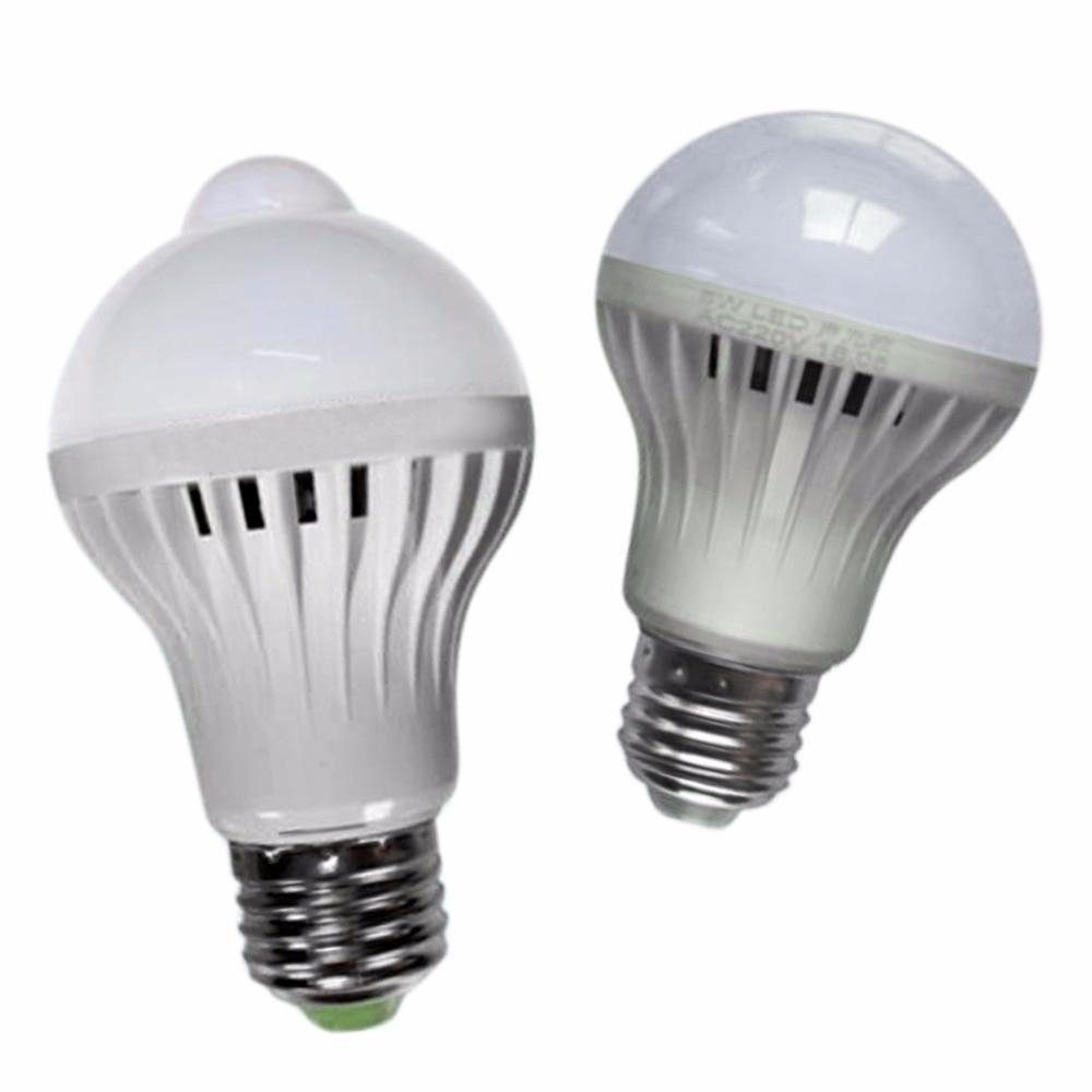 New Led Night Light Lamp Motion Sensor Control Smart Sound