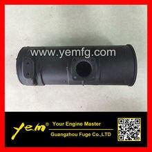 Дизель 4 цилиндра Двигатели для автомобиля 4d98 4tne98 глушитель для Yanmar Двигатели для автомобиля
