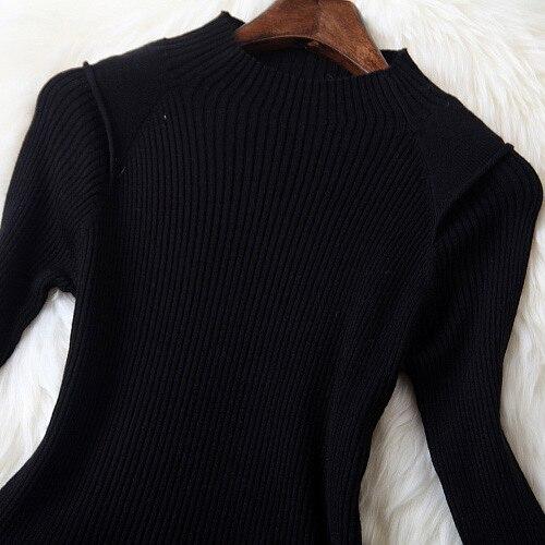 Fiore A Lavoro Slim Femminile Short Elegant Color Patchwork Casual Della Stampa Dress Donne Autunno Alta Black Di Qualità Del Picture Maglia Modo Inverno Abiti 7ZwZPq