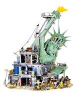 3560 шт. серия Moive Добро пожаловать в apocalypseberg legoings 70840 городская Классическая техника строительные блоки кирпичики игрушки подарок SY1276 45014