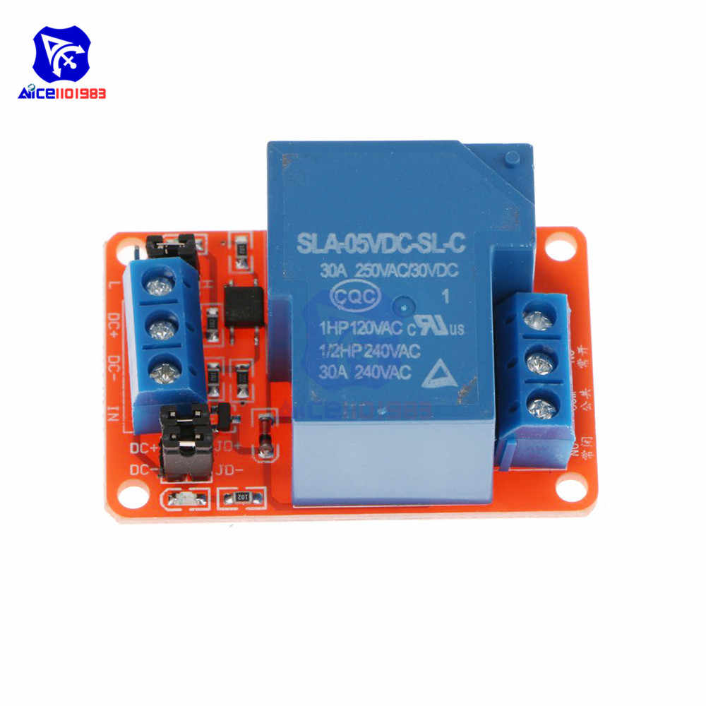 12V Relay Module 1 Channel With High//Low Level Trigger /& Optoisolator AUIT