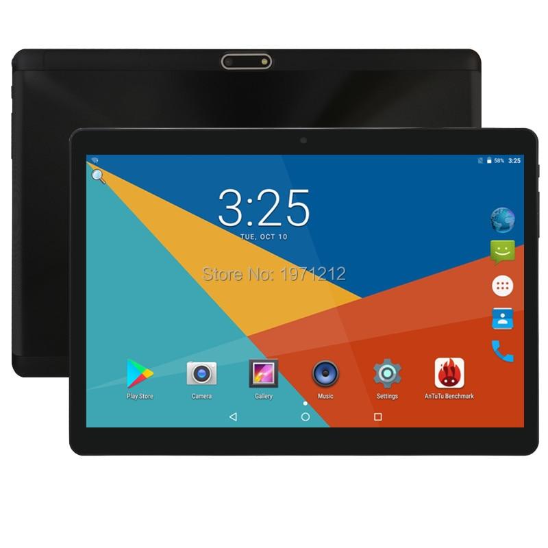 10 pouces 3G 4G LTE tablette pc Octa core IPS 4 GB RAM 128 GB ROM Android 8.0 wifi Bluetooth GPS tablette 7 8 9 10.1 + cadeaux 2.5D écran