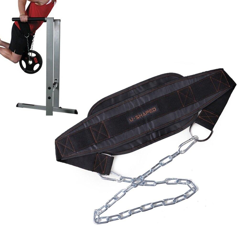 Gym Poids Ceinture Pondération Haltère Haltère Ceinture Musculation Musculation Pull Up D'entraînement Powerlifting Matériel De Gymnastique Avec La Chaîne