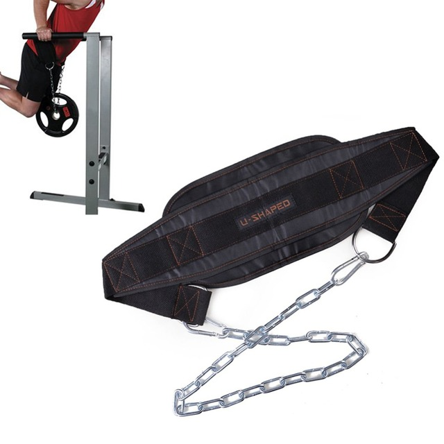 Gym Weight Belt Weighting Dumbbell Barbell Belt Musculation Bodybuilding Pull Up Workout Powerlifting Gym Equipment With Chain