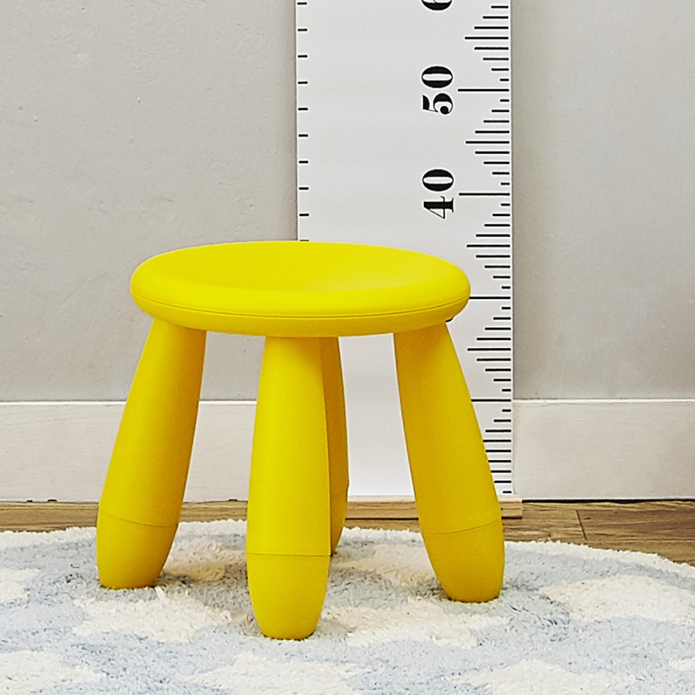 Round Assembly Baby Table Stool Creativity Childrens