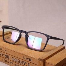 Vazrobe TR90 Fashion Fake Wood Grain Eyeglasses Frame Men Prescription Spectacles Professional Custom-make Myopia Lense for Male