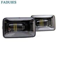 FADUIES Black Car LED Projector Fog Light For Ford F 150 Fog Lights 2psc