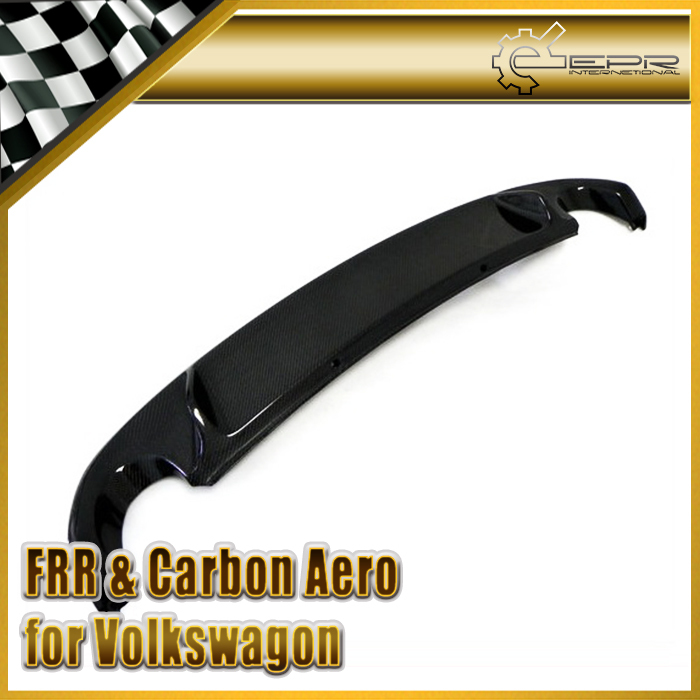 Car-styling For Volkswagen VW Golf 6 MK6 GTI Carbon Fiber OEM Rear Diffuser