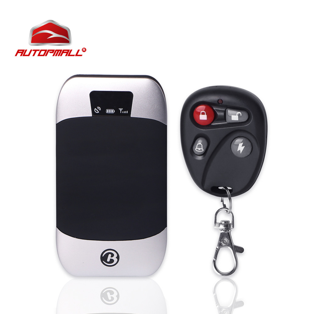 Car GPS Tracker Vehicle Real Time Tracking Device Cut off Oil Power System Car Alam GPS LBS Positioning Remote Control GPS303I