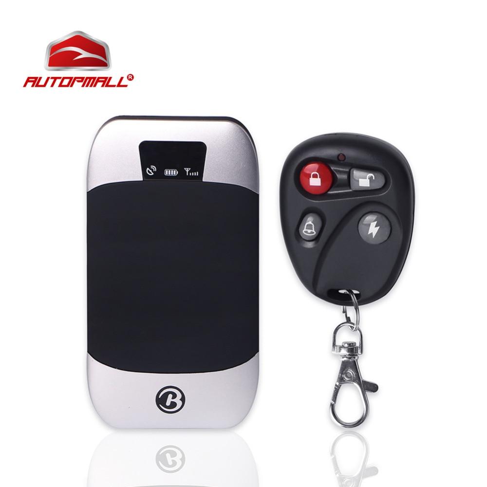 Автомобиль GPS Tracker автомобиля в режиме реального времени устройства слежения отрезать нефть Мощность Системы автомобиль Алам GPS фунтов позиционирования дистанционного Управление GPS 303I
