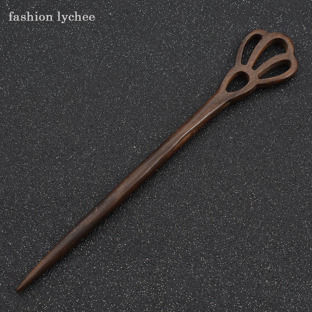 Traditional Wooden Hairpins 1