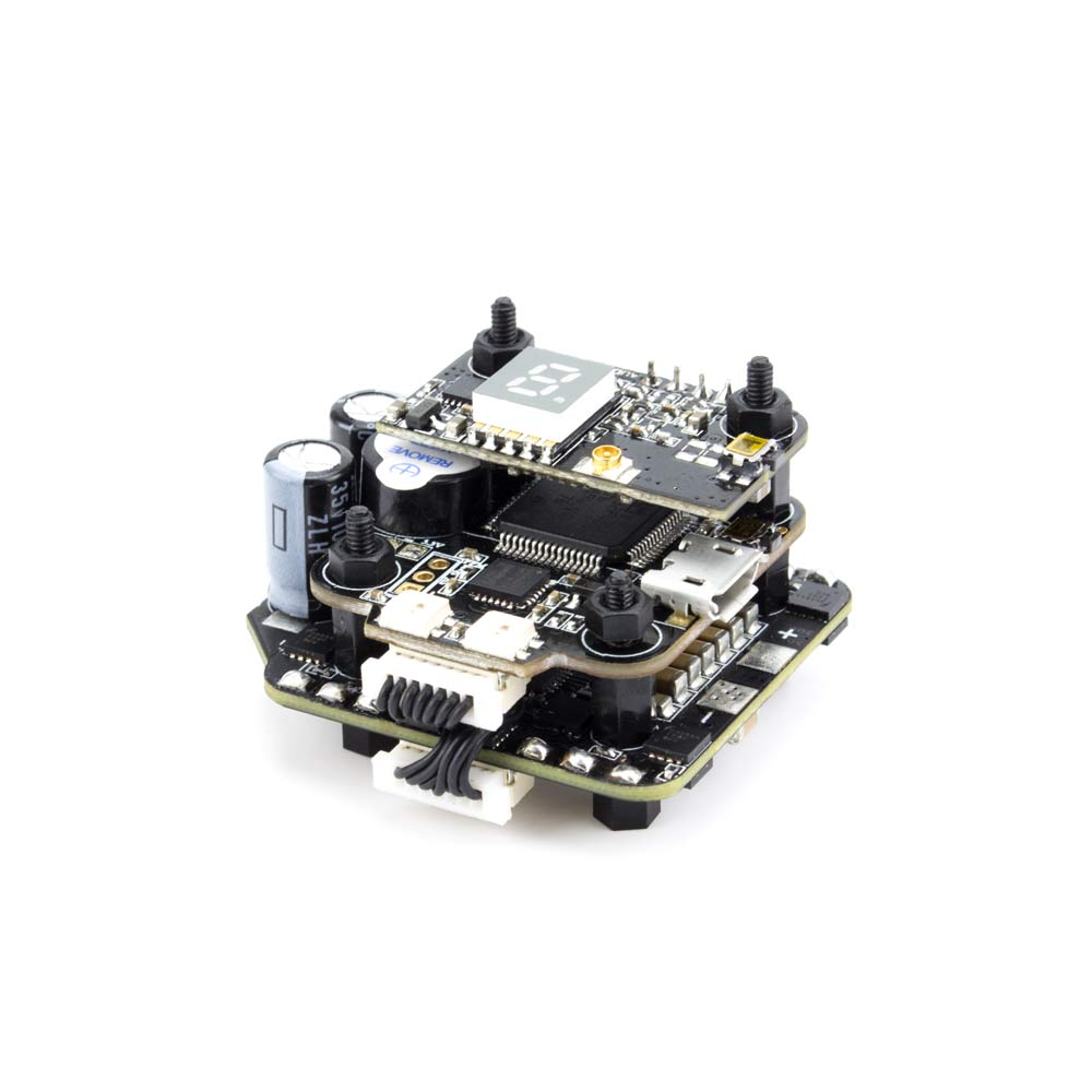 цена на Emax Mini MAGNUM 2 F4 Flight Controller MPU6000 6S BLHELI 32BIT 35amp BLHeli32 Capable ESC Board Current Sensor All-in-One Stack