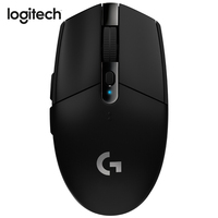 Logitech G304 LIGHTSPEED Gaming Mouse Wireless Mouse with HERO Sensor 12000DPI 400IPS AA Battery for Mouse Gamer