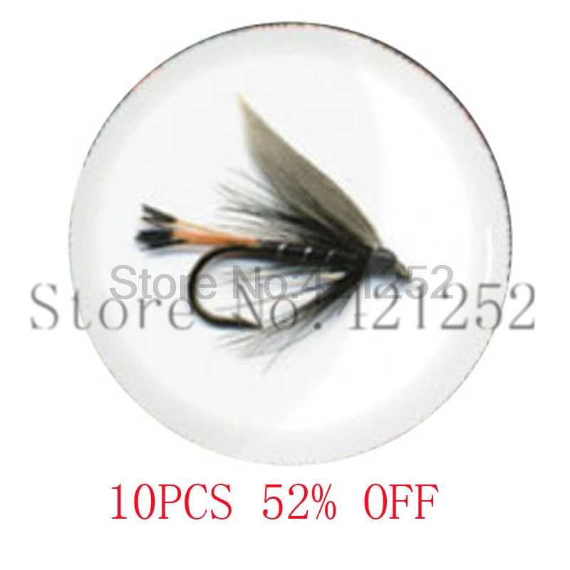Fly Fishing necklace keyring bookmark cufflink earring