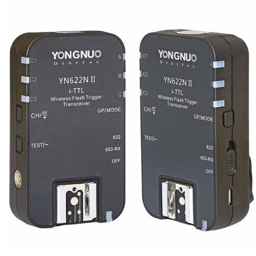 YONGNUO YN-622N II YN622N II TTL Wireless Flash Trigger for Nikon D800 D700 D600 D610 D750 D200 D90 D5200 D3200 D300 аксессуар yongnuo yn 622n ii для nikon радиосинхронизатор