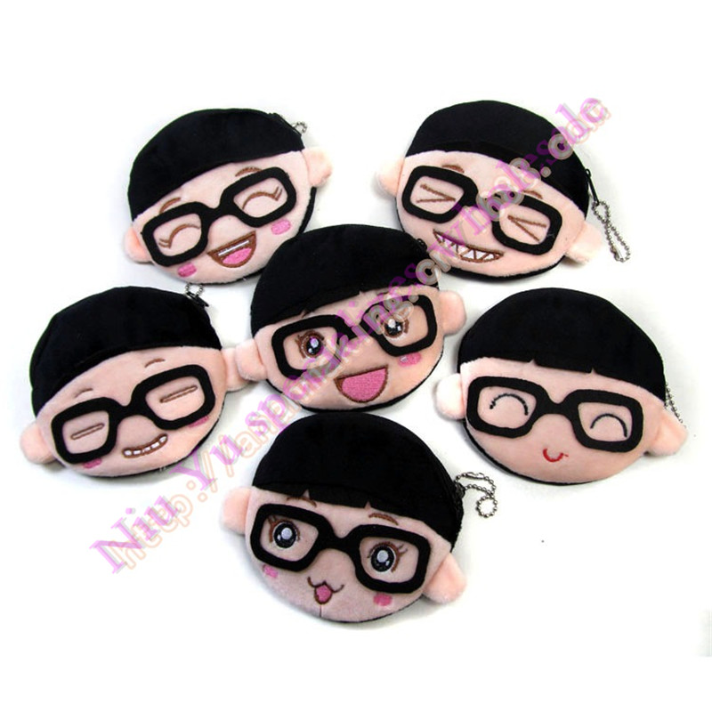 cute boy expression zero purse small purses zipper coin bag creative personality toys for children small gift wholesale coin purses the movie aladdin and the magic lamp pattern lamp zero wallet coin bag children birthday gift lqb1058