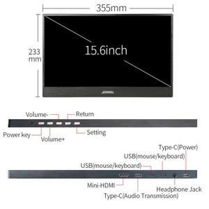 Image 2 - شاشة لمس عالية الدقة شاشة محمولة للألعاب 15.6 بوصة نوع c PS4 شاشة صغيرة hdmi 1080P IPS شاشة كمبيوتر لراسبيري بي إكس بوكس