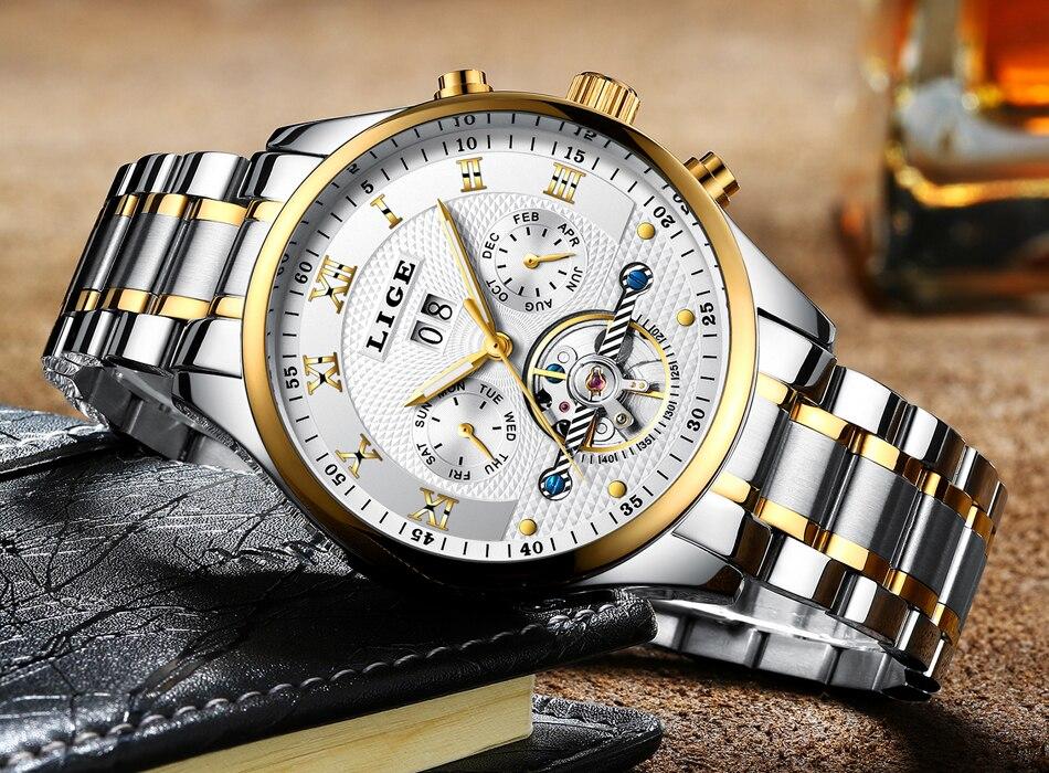 de luxo relógio casual relogio masculino