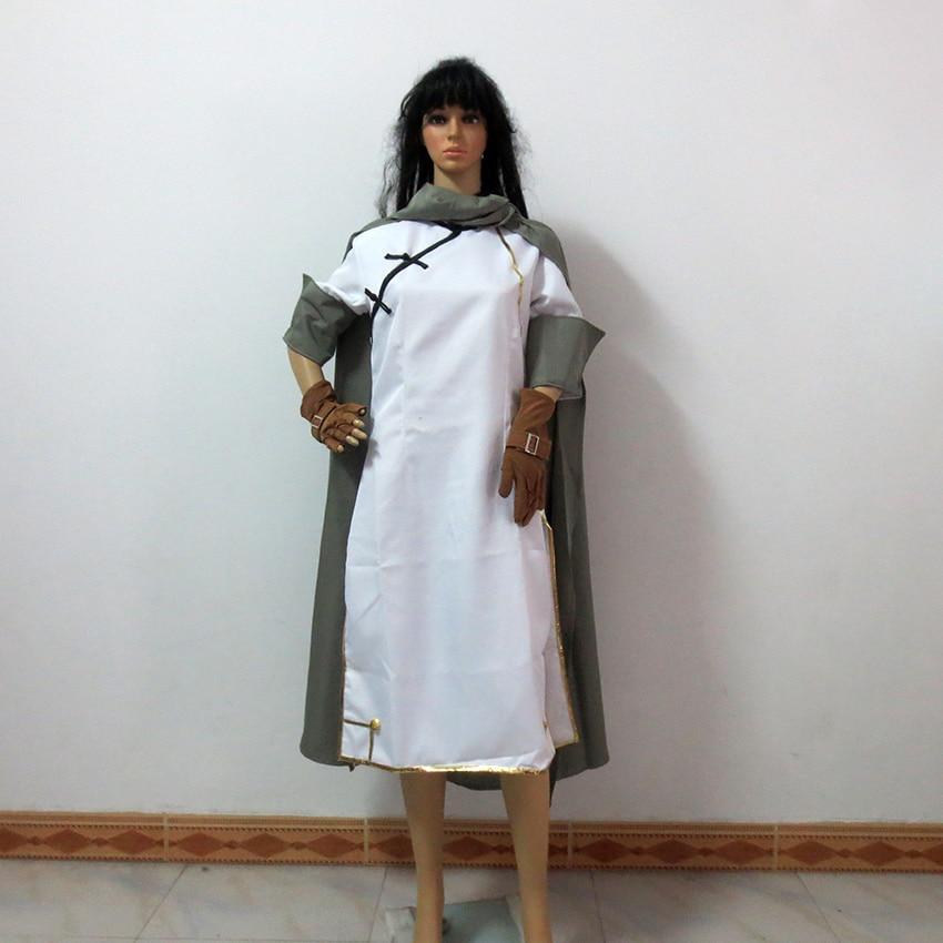 Gintama Kouka Kagura Cheongsam Qipao Christmas Party Halloween Uniform Outfit Cosplay Costume Customize Any Size