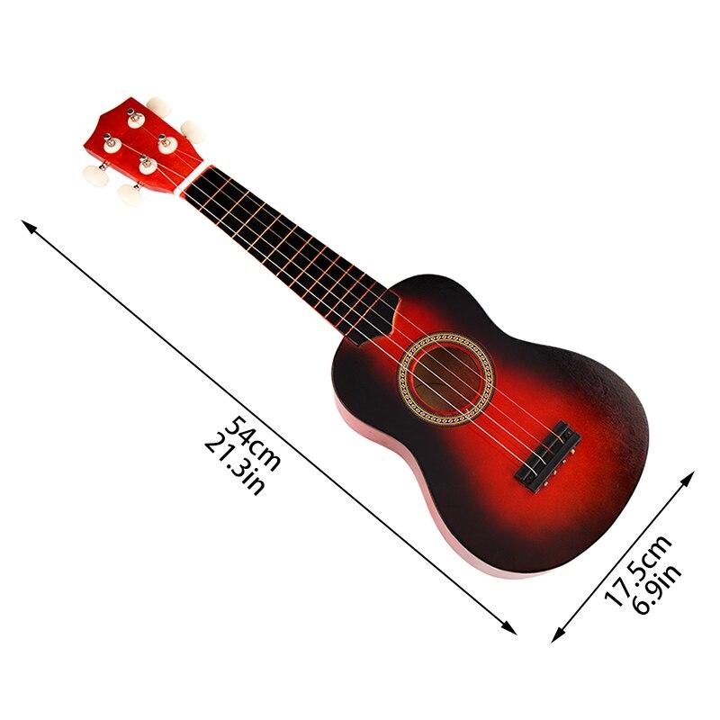 SOACH high quality bass acoustic guitar 21in wood ukulele guitar 4 ...