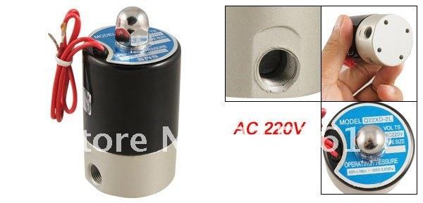 10 шт. много Q22XD-2L AC 220 В 2 позиции 2 пути пневматическая электромагнитный Клапан
