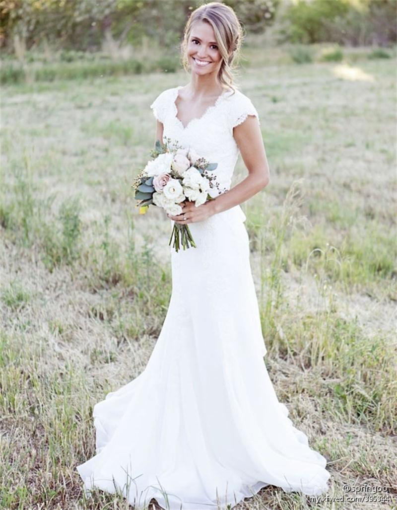 rustic country wedding dresses rustic style wedding dresses Reem Acra Fall Collection