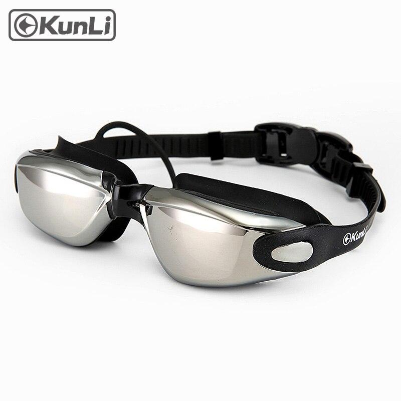 Kunli peldēšanas brilles vīriešiem sievietēm pret miglu - Sporta apģērbs un aksesuāri