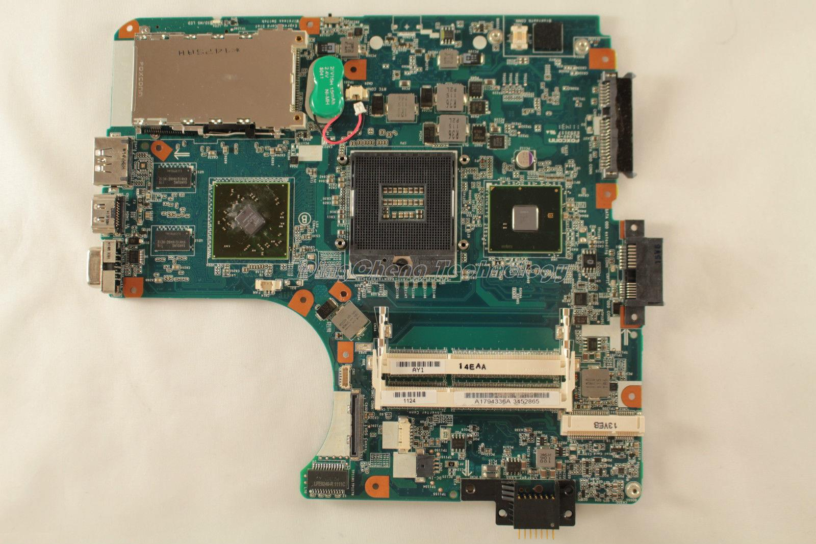 MBX 224 laptop Motherboard For Sony M961 MBX-224 1P-0106J01-8011 A17943363A for intel cpu with non-integrated graphics card