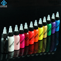 OPHIR 12 Colors Airbrush Inks for Nail Art 30ml/bottle Nail Painting Pigment Inks Bright-Coloured Airbrushing Nail Tools_TA100