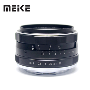 Image 2 - Meike 25mm F1.8 APS C Wide Angle Lens Manual Focus for SONY E mount Fujifilm X mount  Panasonic Olympus M4/3 Camera A7 A7RIII