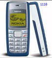 Comercio al por mayor 1110 original desbloqueado nokia 1110 mobile teléfono de banda dual gsm classic teléfono celular reformado 1 año de garantía
