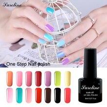 Saroline 3 in 1 Nail Gel Polish UV Nail Gel Easy Application No Need Acetone to Remove One Step Gel Varnishes nail art