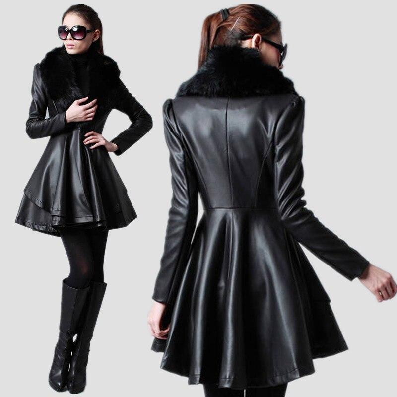 кожаная куртка зимняя женская фото