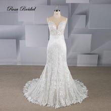 Свадебное платье Русалка rosabridal свадебное без рукавов с
