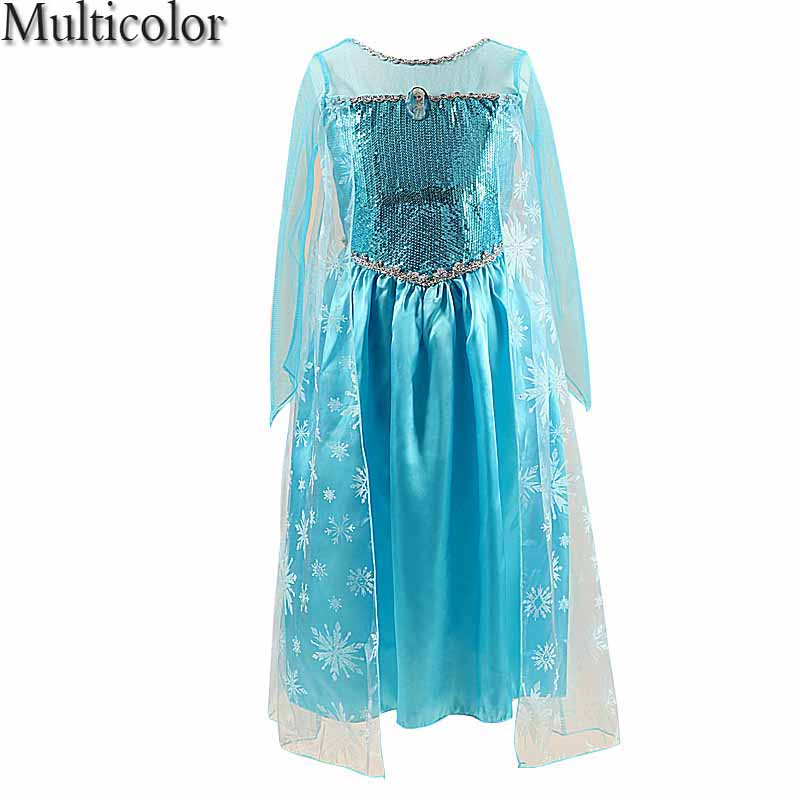 Elsa Anna Girls Princess Children Dress Party Fantasia Vestidos Infants Dresses Summer Baby Kids Custom Vestido infantil Clothes женское платье booming jelly v 2015 vestido vestidos 141029 page 2