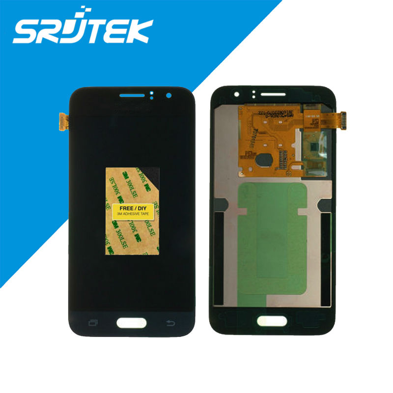 ФОТО Gold/White/Black For Samsung Galaxy J1 J120 J120F LCD Displayh Touch Screen Digitizer Assembly Replacement Free Shipping 800x480