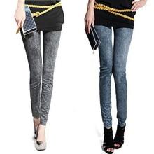 2017 high quality Womens Good elasticity Tight Denim Jeans Skinny Pants Slim Stretch Leggings Trouser