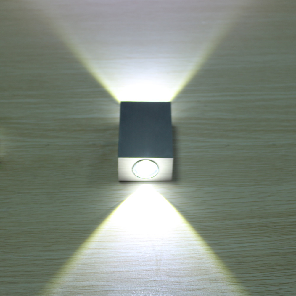 LED Mur Lampe Luminaire 2 w Applique Murale spot Porche lumi¨re pour