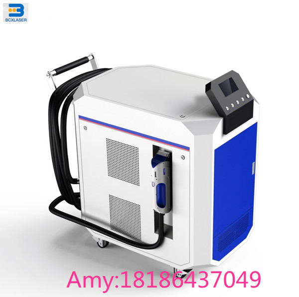 100w200w laser cleaning machine for rust removal